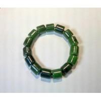 Четки-браслет из нефрита
